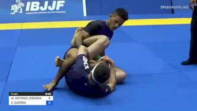 WARLY ANTONIO JERONIMO DA SILVA vs SANTIAGO GUERRA 2021 World IBJJF Jiu-Jitsu No-Gi Championship
