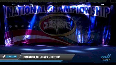Brandon All-Stars - Glitter [2021 L1 Tiny - Novice - Exhibition Day 1] 2021 ACP: Tournament of Champions