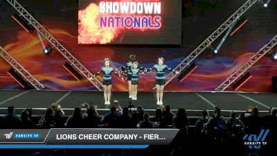 Lions Cheer Company - Fierce Cats [2020 L2 Junior - D2 - Small - A Day 2] 2020 GLCC: The Showdown Grand Nationals