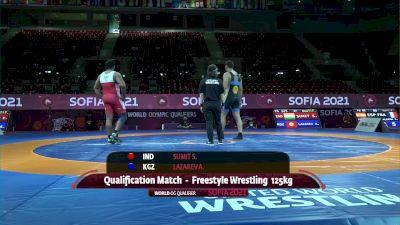 125 kg Sumit Sumit, IND vs Aiaal Lazarev, KGZ