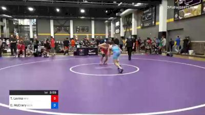 61 kg Consolation - Timothy Levine, New England Regional Training Center vs Caden McCrary, Georgia