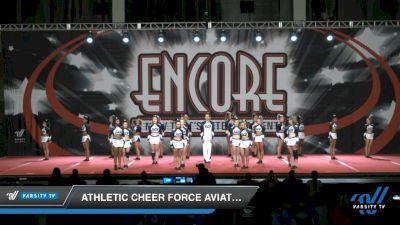Athletic Cheer Force Aviators [2021 L4 Senior Coed - D2 Day 2] 2021 Encore Championships: Charlotte Area DI & DII