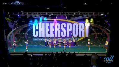 Twist & Shout Tulsa - Rev5 [2021 L5 Senior Coed - Small Day 2] 2021 CHEERSPORT National Cheerleading Championship