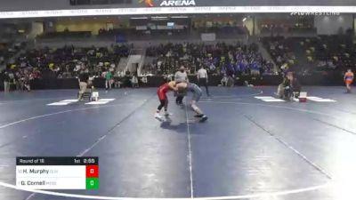 149 lbs Prelims - Hunter Murphy, Olivet College vs Garret Cornell, Messiah University