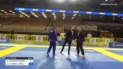 STEVEN CAMERON RHODES vs JOSE ALFREDO LOPEZ 2020 World Master IBJJF Jiu-Jitsu Championship