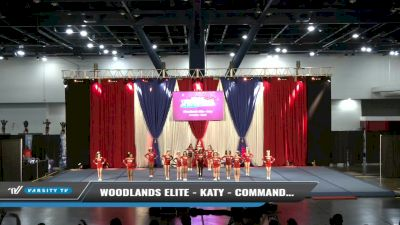 Woodlands Elite - Katy - Commanders [2021 L4 Junior - Small Day 1] 2021 The American Spectacular DI & DII