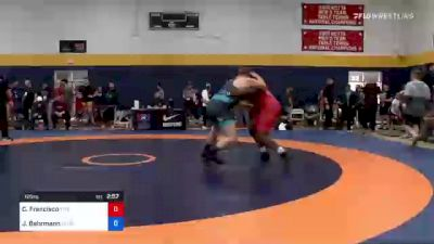125 kg Round Of 16 - Ceron Francisco, Titan Mercury Wrestling Club (TMWC) vs Joseph Behrmann, Georgia