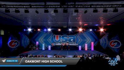 Oakmont High School [2019 Co-Ed Varsity Show Cheer Novice Day 1] 2019 USA Spirit Nationals