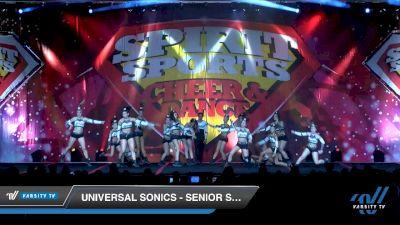 Universal Sonics - Senior Supreme [2020 L5 Senior Coed - D2 Day 1] 2020 Spirit Sports: Duel In The Desert