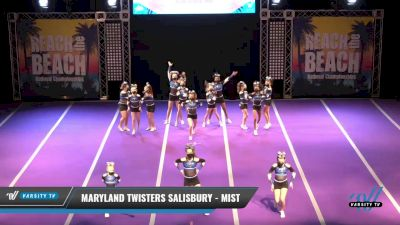 Maryland Twisters Salisbury - Mist [2021 L2 Youth Day 2] 2021 ACDA: Reach The Beach Nationals