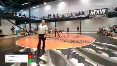 165 lbs Prelims - Caden Oltman, Midwest Xtreme Wrestling vs Nicholas Tattini, Elite Athletic Club