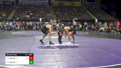 197 lbs Quarterfinal - Jay Aiello, Virginia vs Alexander Hopkins, Army West Point