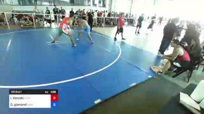 184 lbs Rr Rnd 1 - Ivan Kanzaki, Contact! vs Doug Gismondi, Gismo Rock