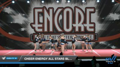 Cheer Energy All Stars Blackout [2021 L4 Senior - D2 Day 2] 2021 Encore Championships: Charlotte Area DI & DII