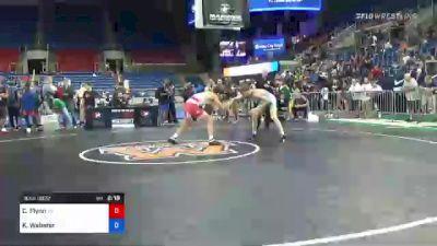 120 lbs Quarterfinal - Cooper Flynn, Tennessee vs Kannon Webster, Illinois