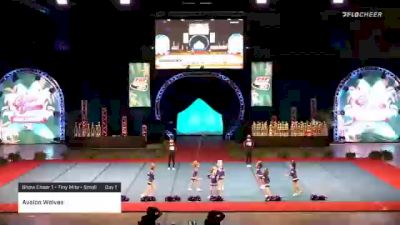 Avalon Wolves [2020 Show Cheer 1 - Tiny Mite - Small Day 1] 2020 Pop Warner National Cheer & Dance Championship