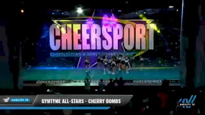 GymTyme All-Stars - Cherry Bombs [2021 L2 Youth - Small - A Day 2] 2021 CHEERSPORT National Cheerleading Championship
