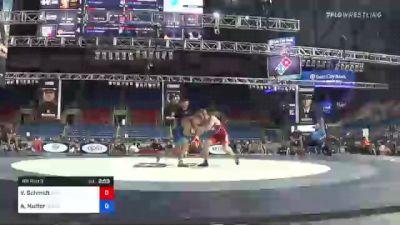63 kg Rr Rnd 3 - Van Schmidt, MWC Wrestling Academy vs Aidan Nutter, Wisconsin