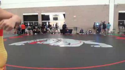72 kg 5th Place - Tiyanna Leal, OR vs Jennifer Tongi, WA