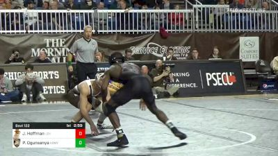 149 lbs Quarterfinal - Jimmy Hoffman, Lehigh vs Pj Ogunsanya, Army