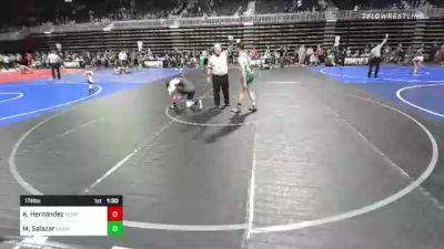 174 lbs Rr Rnd 3 - Kevin Hernandez, Team Pueblo vs Marquez Salazar, Adams City