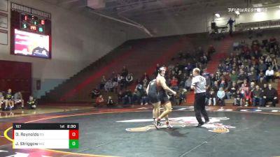 197 lbs Dylan Reynolds, Edinboro vs Jackson Striggow, Michigan