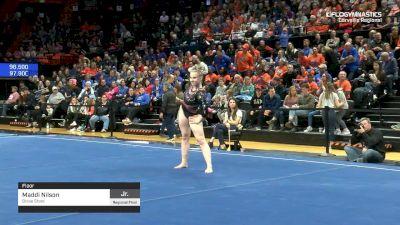 Maddi Nilson - Floor, Boise State - 2019 NCAA Gymnastics Regional Championships - Oregon State