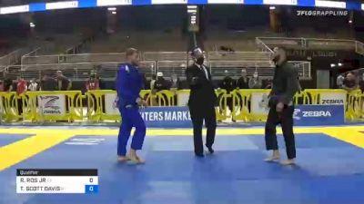 RICARDO ROS JR vs TRAVIS SCOTT DAVIS 2020 World Master IBJJF Jiu-Jitsu Championship