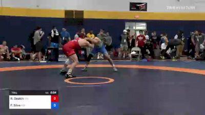 74 kg Round Of 16 - Ryan Deakin, Titan Mercury Wrestling Club (TMWC) vs Fernando Silva, Indiana RTC