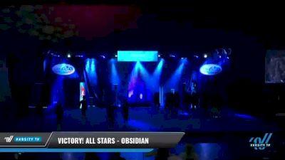 Victory! All Stars - Obsidian [2021 L2 Senior - Medium Day 2] 2021 Return to Atlantis: Myrtle Beach