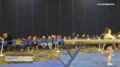 Kyla Dickson - Vault, Burlington - 2019 Brestyan's Las Vegas Invitational