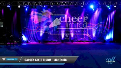 Garden State Storm - Lightning [2021 L3 Perf Rec - 18 and Younger (NON)] 2021 Cheer Ltd Open Championship: Trenton
