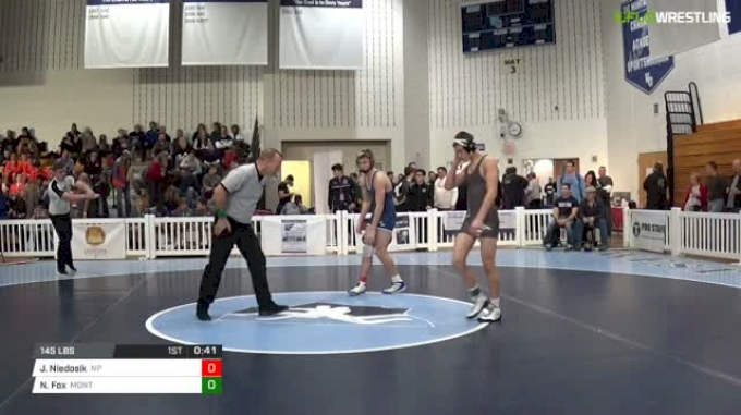 145 lbs Consi of 16 #2 - Jarret Niedosik, North Penn vs Noah