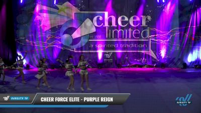 Cheer Force Elite - Purple Reign [2021 L4 Senior - D2 - Small] 2021 Cheer Ltd Open Championship: Trenton