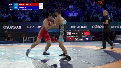 67 kg 1/4 Final - Nazir Abdullaev, Russian Wrestling Federation vs Murat Firat, Turkey