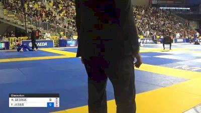HIAGO GEORGE SANTOS SILVA vs FERNANDO JESUS SOARES 2019 World Jiu-Jitsu IBJJF Championship