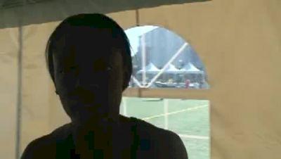 Keshia Baker 400 semis USA Outdoor Championships