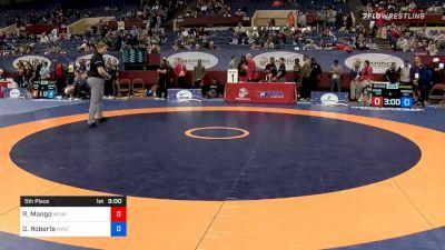 60 kg 5th Place - Ryan Mango, Army WCAP vs Dalton Roberts, New York Athletic Club