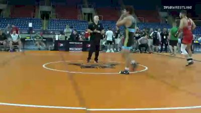 70 kg Semifinal - Ryan Deakin, Titan Mercury Wrestling Club (TMWC) vs Zach Watts, Bison Wrestling Club