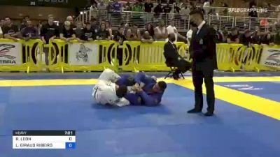 RAMIRO LEON vs LUCAS GIRAUD RIBEIRO 2021 Pan Jiu-Jitsu IBJJF Championship