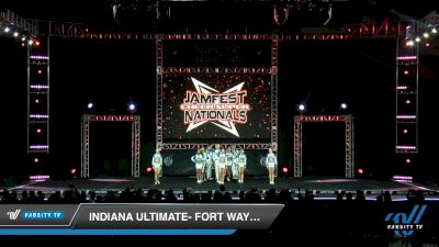 Indiana Ultimate- Fort Wayne - Electric Blue [2020 L5 Senior Coed - Small Day 2] 2020 JAMfest Cheer Super Nationals