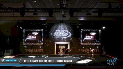 Legendary Cheer Elite - Code Black [2021 L2.1 Mini - PREP 2] 2021 The U.S. Finals: Grapevine
