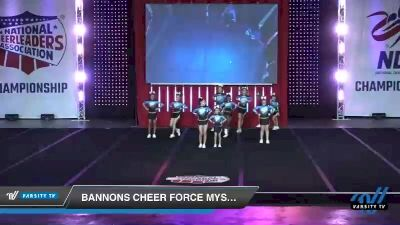 - Bannons Cheer Force Mystique [2019 Junior - Small 2 Day 1] 2019 NCA North Texas Classic