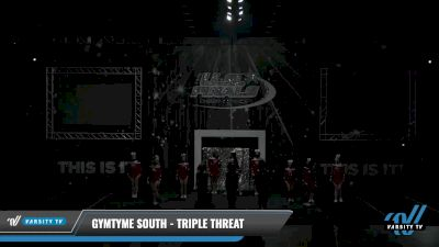 GymTyme South - Triple Threat [2021 L3 Junior - Small - A Day 2] 2021 The U.S. Finals: Louisville