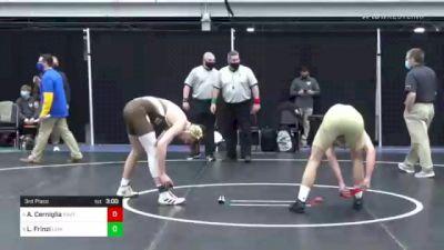 157 lbs 3rd Place - Andrew Cerniglia, Navy vs Luca Frinzi, Lehigh