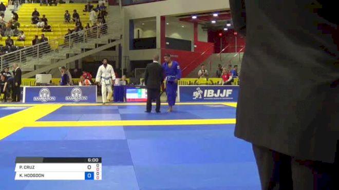 PETER CRUZ vs KYLE HODGDON 2018 World IBJJF Jiu-Jitsu Championship