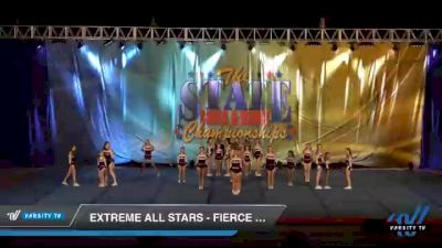 Extreme All Stars - Fierce Cats [2021 L2 Junior - D2 - Medium Day 1] 2021 The STATE DI & DII Championships