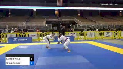 CASIDY MARIE WELCH vs MINAH SUH TURNER 2020 World Master IBJJF Jiu-Jitsu Championship