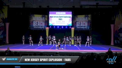New Jersey Spirit Explosion - Fab 5 [2021 L6 Senior - Small Day 2] 2021 ACDA: Reach The Beach Nationals