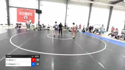 73 kg Final - Owen Quinn, Malvern Prep vs Crew Gregory, Gitomer
